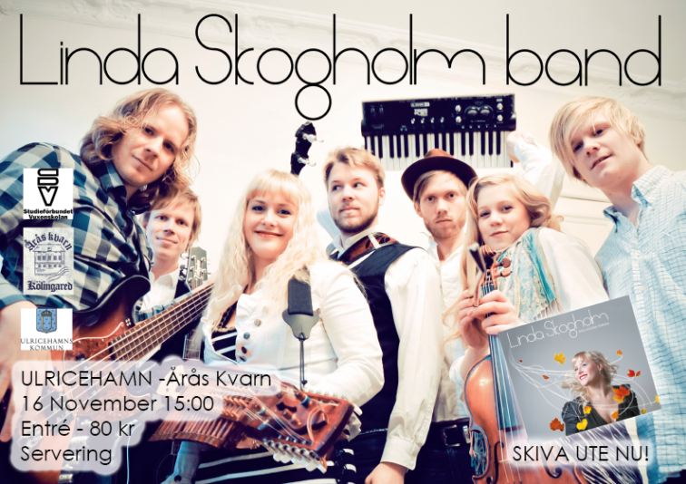 Linda Skogholm 16 nov