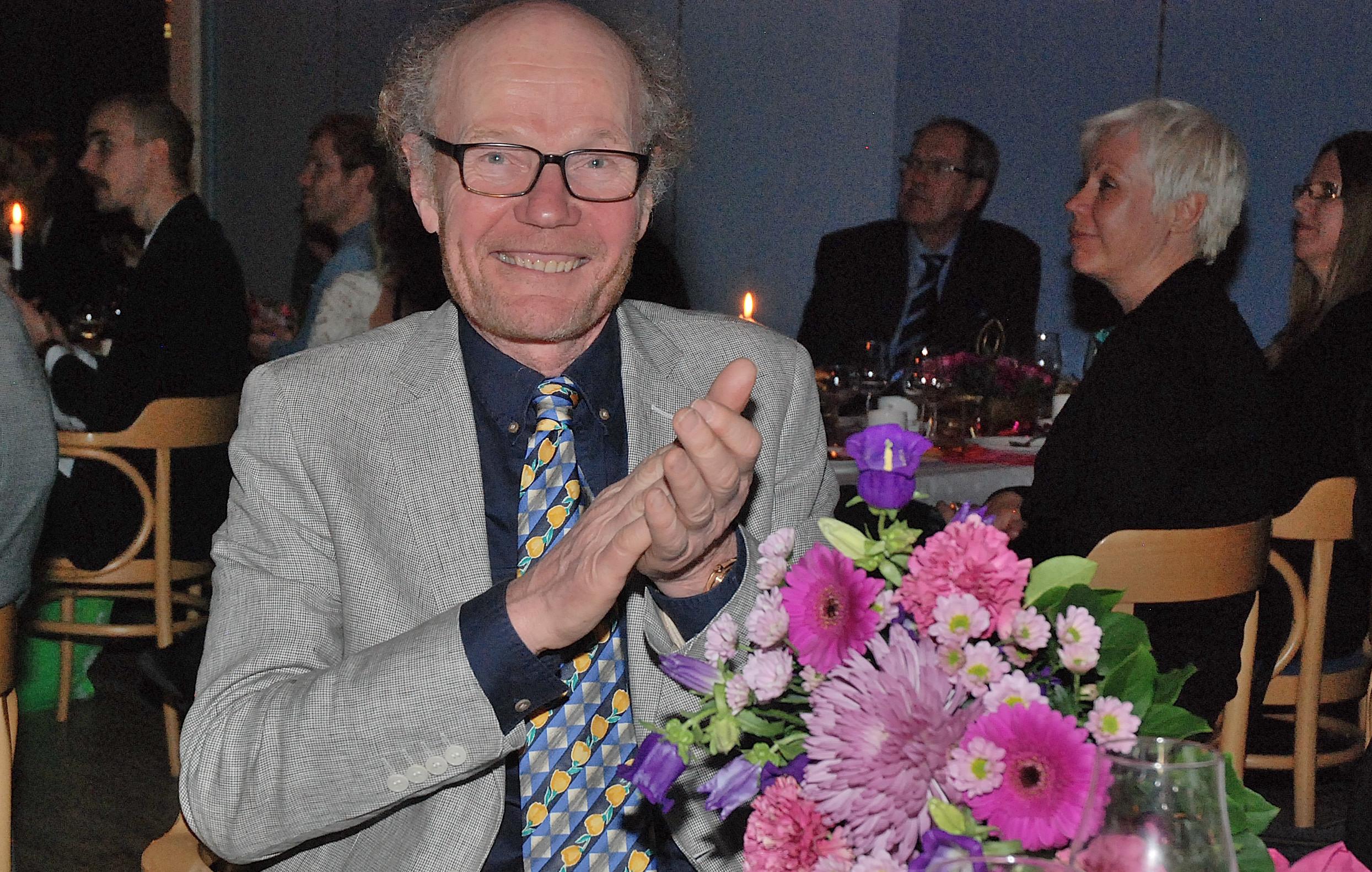 Leadermässa - Jens med blommor